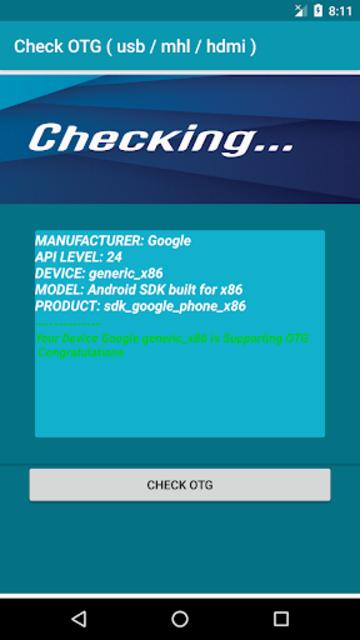 Check OTG ( usb / mhl / hdmi ) screenshot 6