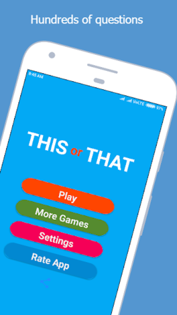 This or That - The Ultimate Choice Game screenshot 1