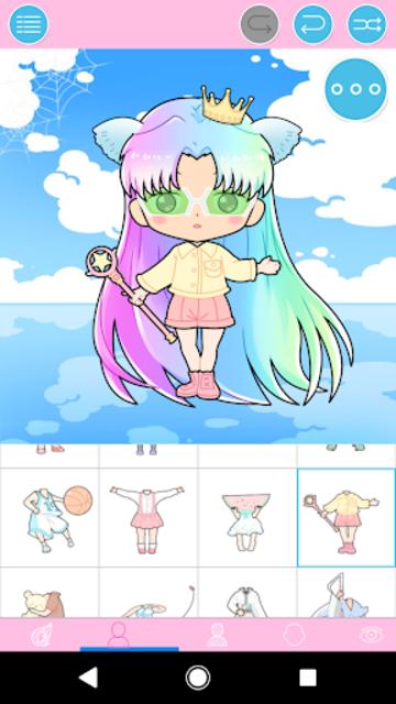 Pastel Chibi Maker: Make Your Own Pastel Chibi screenshot 1