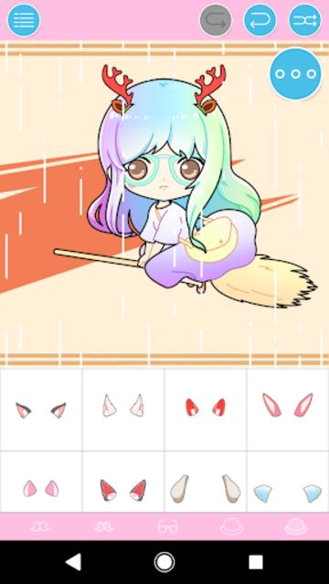Pastel Chibi Maker: Make Your Own Pastel Chibi screenshot 2