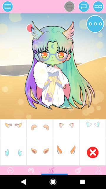 Pastel Chibi Maker: Make Your Own Pastel Chibi screenshot 4