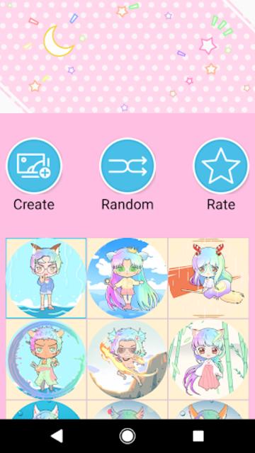 Pastel Chibi Maker: Make Your Own Pastel Chibi screenshot 7