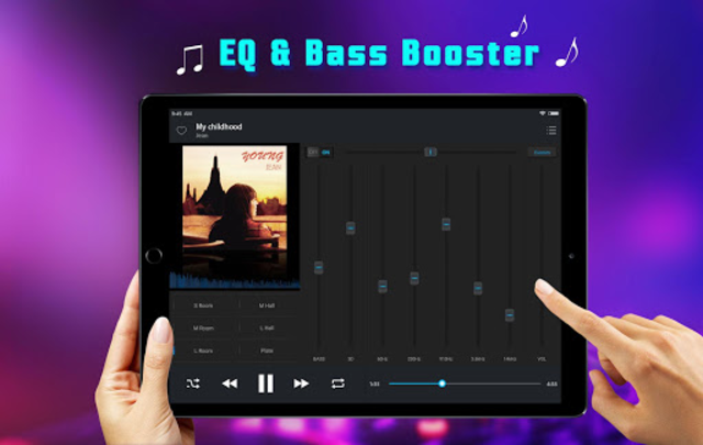 Equalizer Music Player - Free Music for YouTube screenshot 10