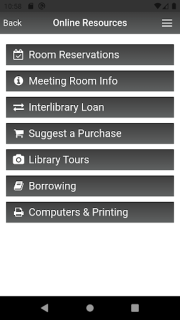 McAllen Public Library screenshot 2