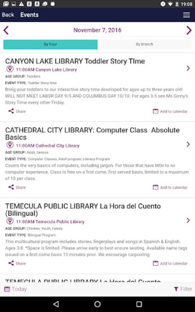 Riverside County Library screenshot 8