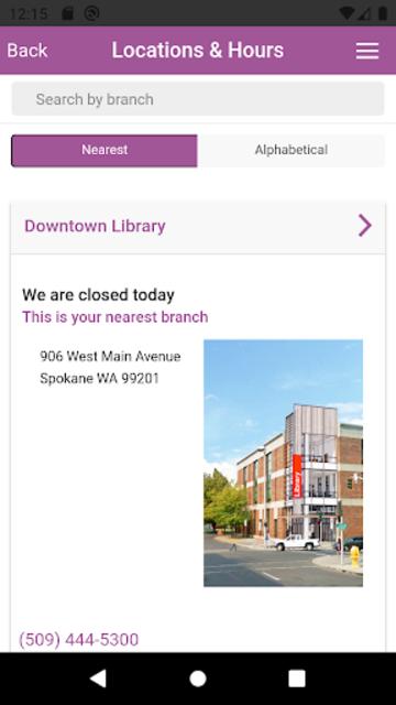 Spokane Public Library screenshot 4