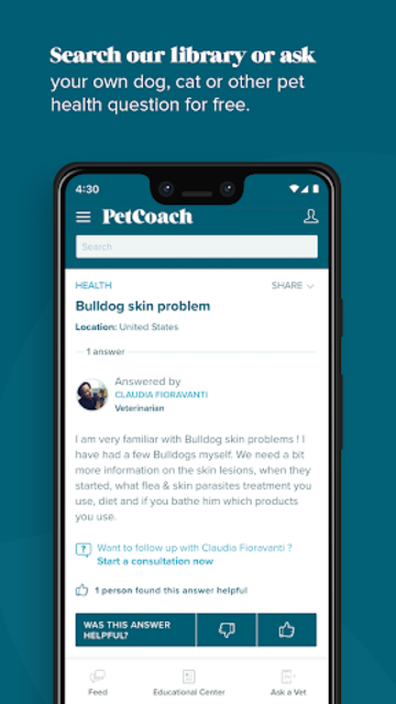 PetCoach - Ask a vet for free screenshot 4
