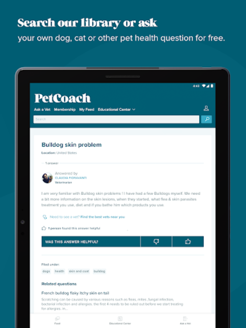 PetCoach - Ask a vet for free screenshot 9
