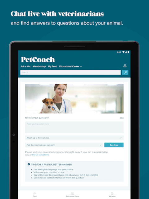 PetCoach - Ask a vet for free screenshot 10