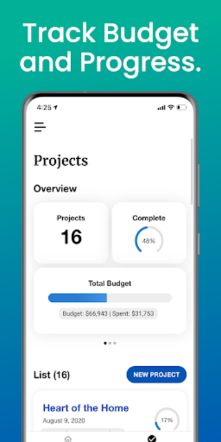Renovately — Budget Your Home Renovation Projects screenshot 2