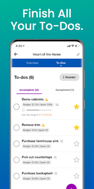 Renovately — Budget Your Home Renovation Projects screenshot 3