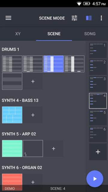SEQVENCE Music Studio screenshot 1