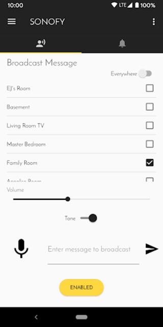 SONOFY - Sonos Voice screenshot 1