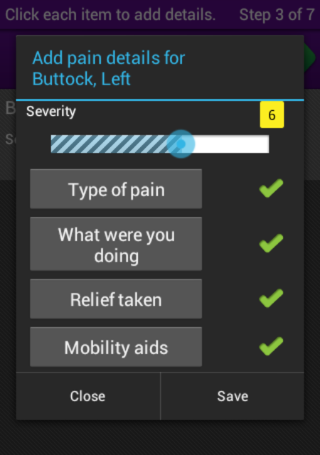 FibroMapp Pain Manager + screenshot 5