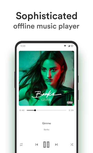 Retro Music Player screenshot 4