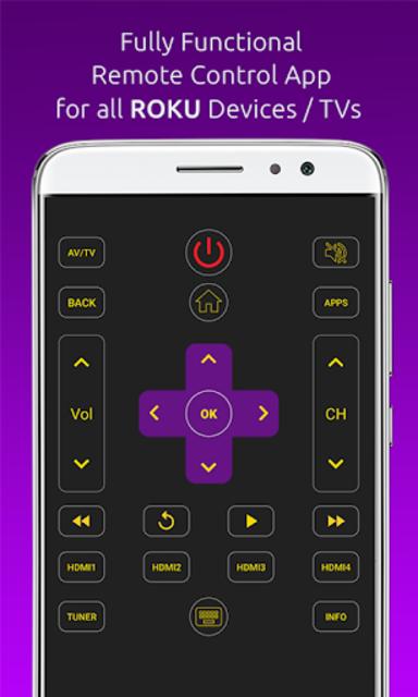 Remote for ROKU TVs / Devices : Codematics screenshot 2