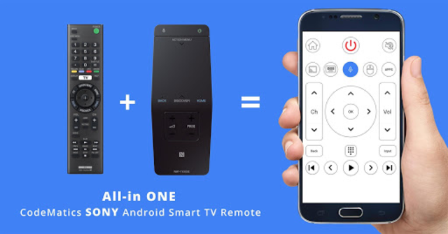 Remote for Sony TV - Android TV Remote screenshot 1