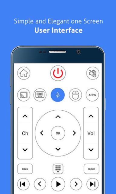 Remote for Sony TV - Android TV Remote screenshot 2
