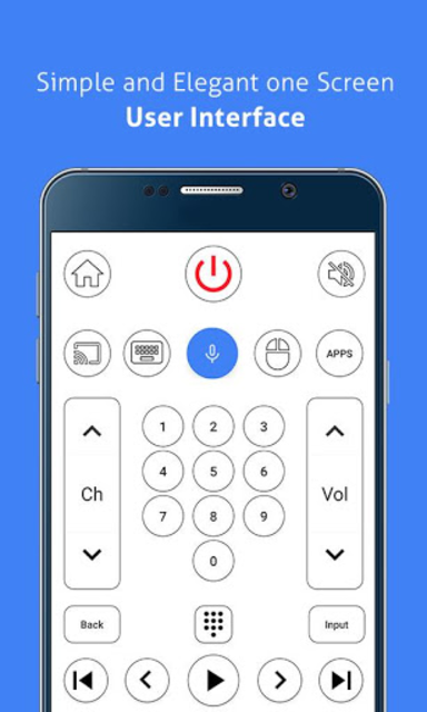 Remote for Sony TV - Android TV Remote screenshot 4