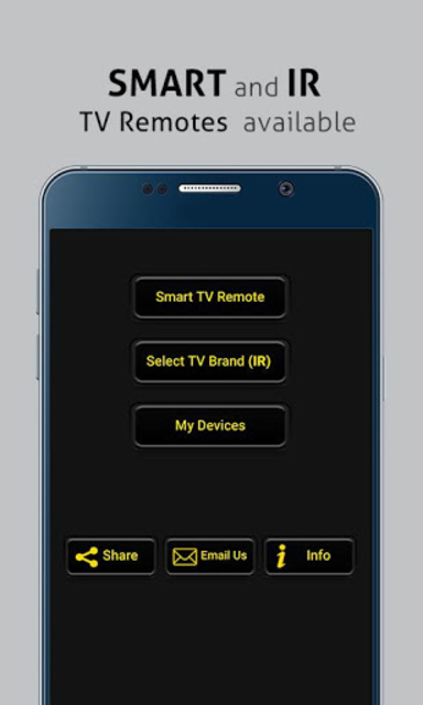 Universal Smart TV / IR TV Remote Control-PREMIUM screenshot 1