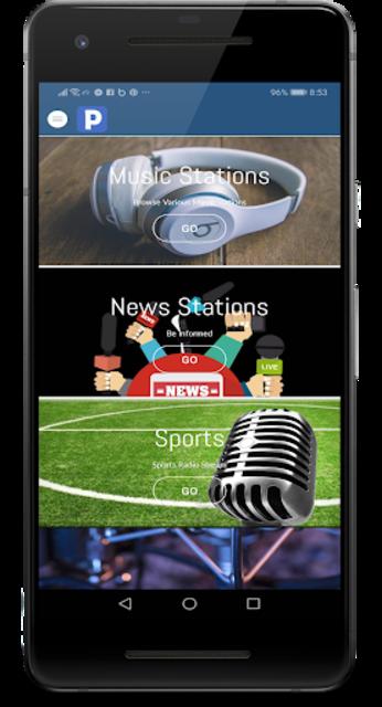 Free Panroda - Music & Radio Stations screenshot 1
