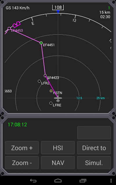 Aero Nav Display screenshot 1