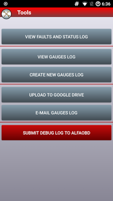 AlfaOBD screenshot 7