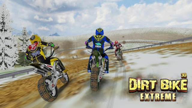 Dirt Bike Extreme ( 3D Game ) screenshot 9