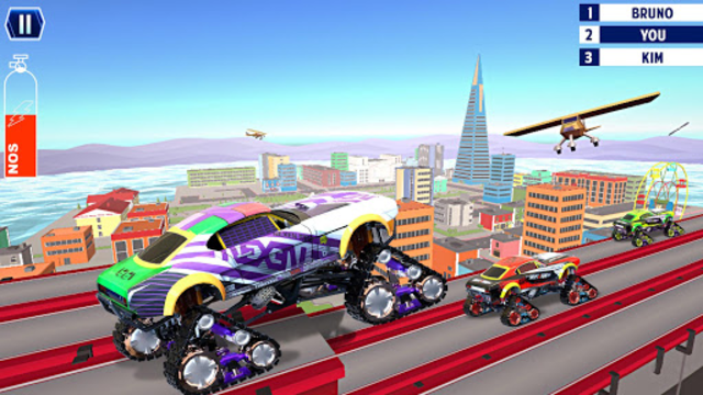 Hot Car Drag Wheels Racing screenshot 1