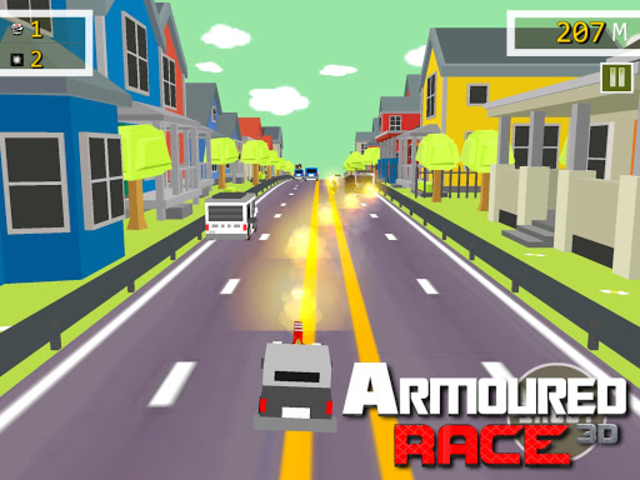 Armoured Race - Road Shooter screenshot 6