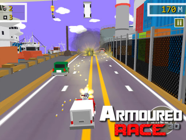 Armoured Race - Road Shooter screenshot 7