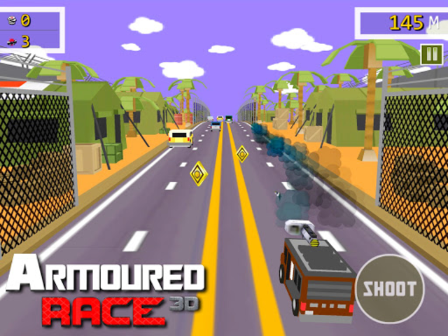 Armoured Race - Road Shooter screenshot 8