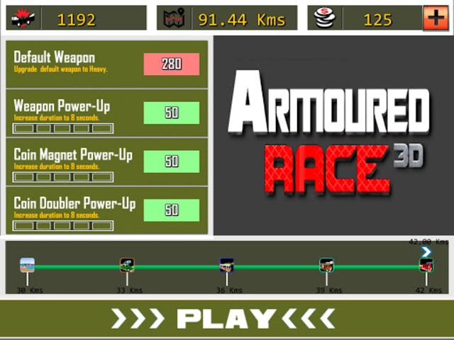 Armoured Race - Road Shooter screenshot 10