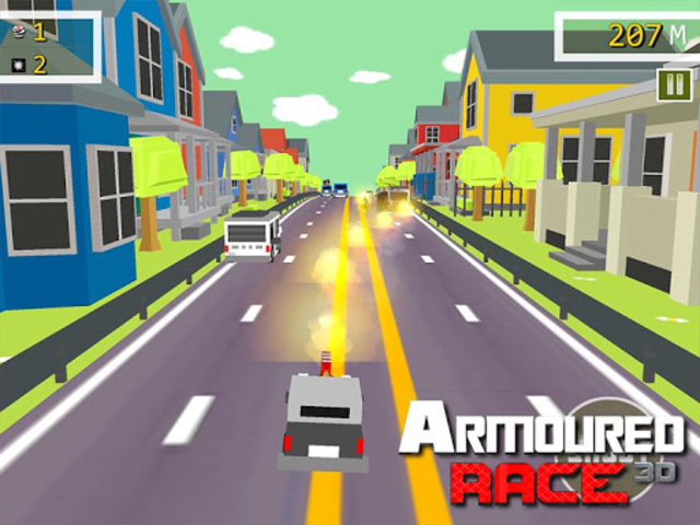 Armoured Race - Road Shooter screenshot 11