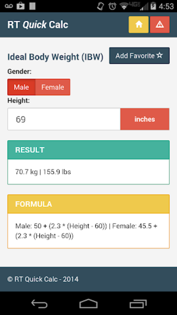 RT Quick Calc screenshot 3