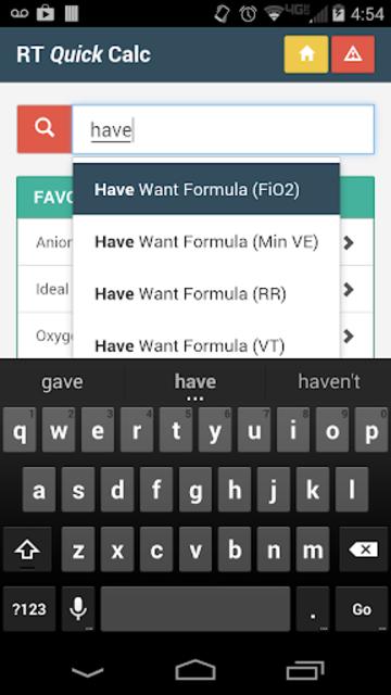 RT Quick Calc screenshot 5