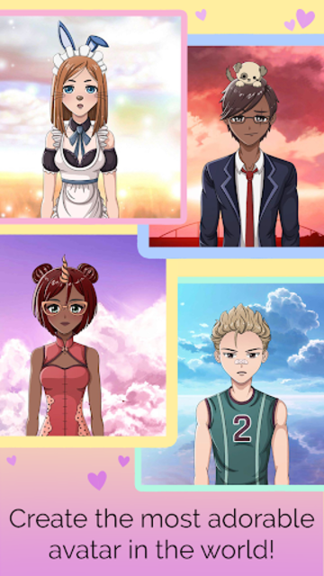 Anime Avatar Creator: Make Your Own Avatar screenshot 6
