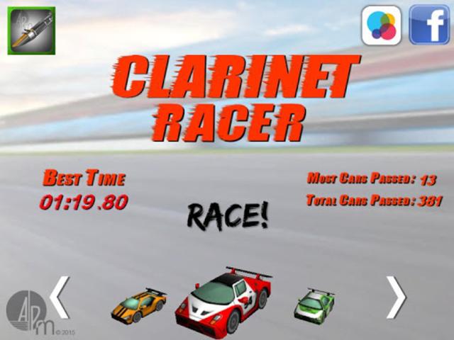 Clarinet Racer screenshot 6