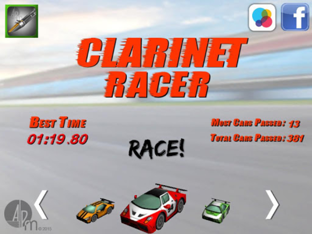 Clarinet Racer screenshot 10