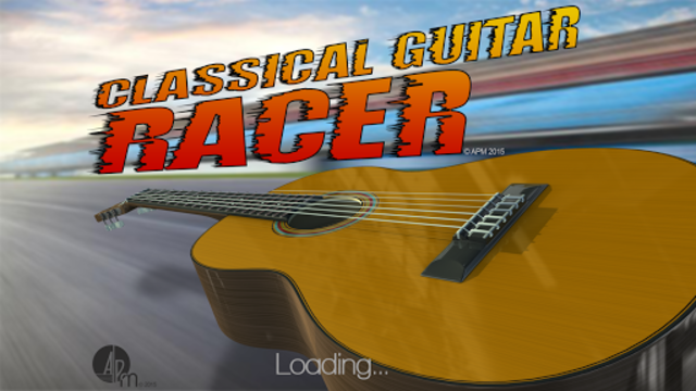 Classical Guitar Racer screenshot 1