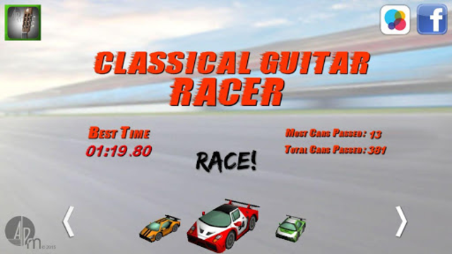 Classical Guitar Racer screenshot 2