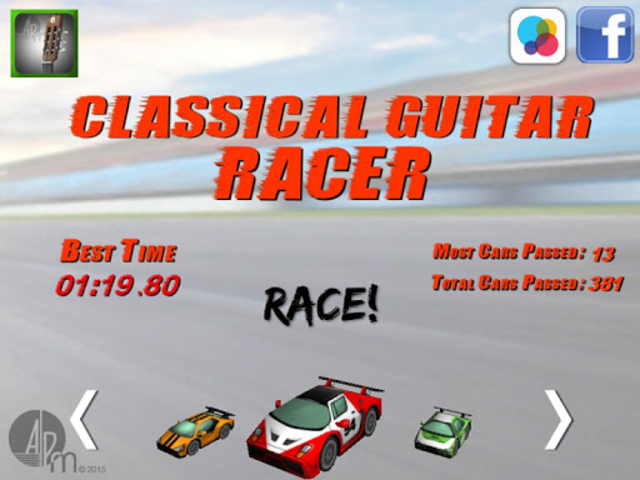 Classical Guitar Racer screenshot 6