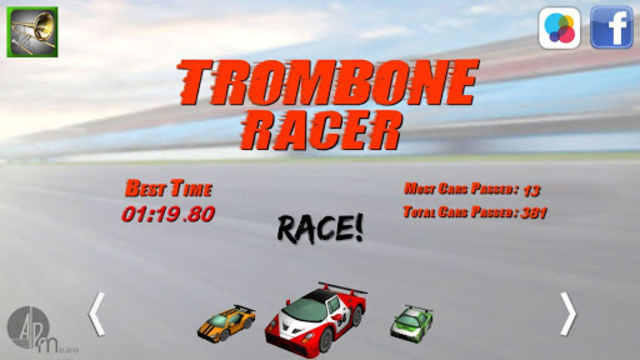 Trombone Racer screenshot 2
