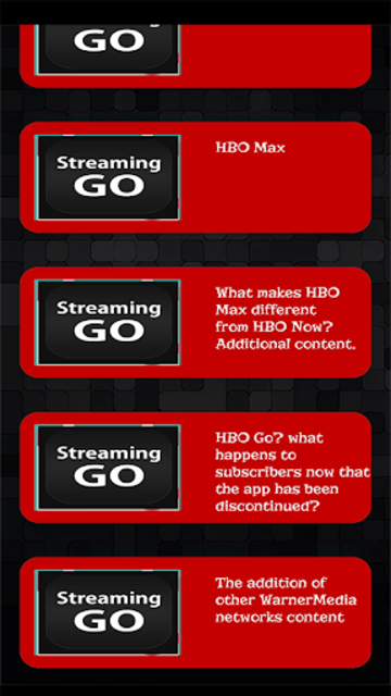 Streaming Guide for HBO GO TV screenshot 1
