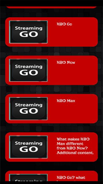 Streaming Guide for HBO GO TV screenshot 2
