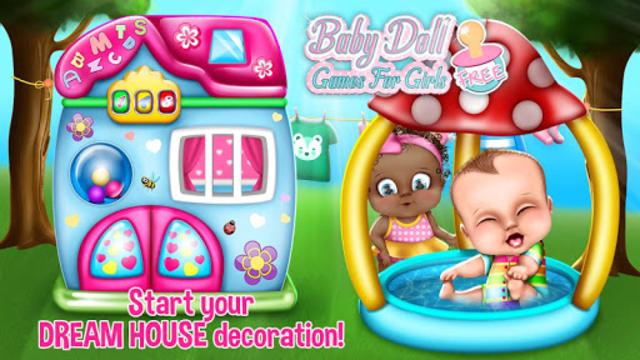 Baby Doll Games For Girls Free screenshot 1