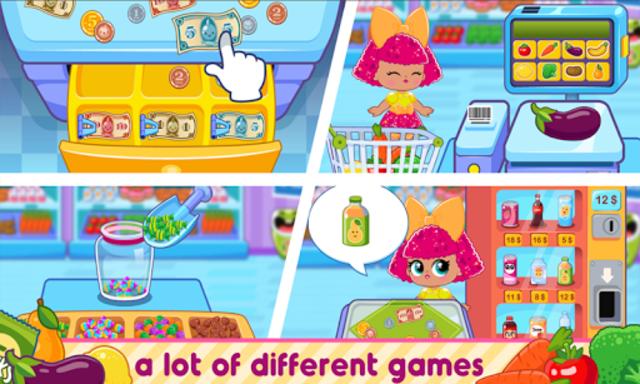 l o l Dools Supermarket Game screenshot 1