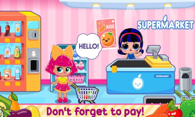 l o l Dools Supermarket Game screenshot 3