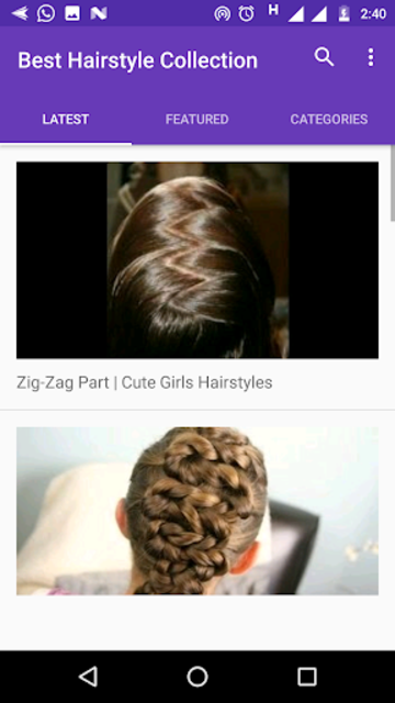 About Best Hairstyle Collection For Girls Hd Videos Google Play Version Best Hairstyle Google Play Apptopia