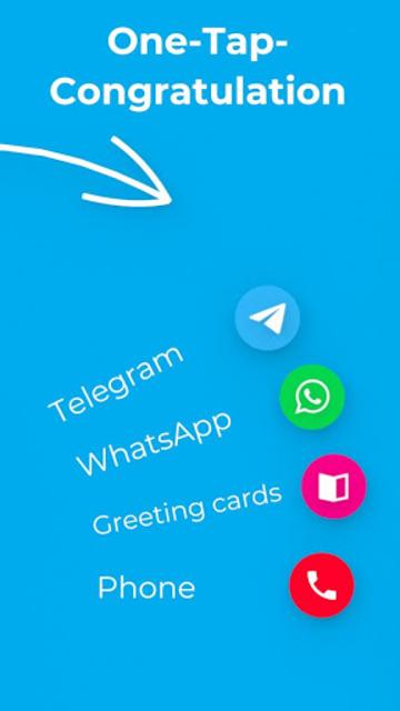 Birthdays - Reminder, Calendar & Greeting Cards screenshot 3